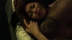 Hot Asian slut gets ebony pleasure